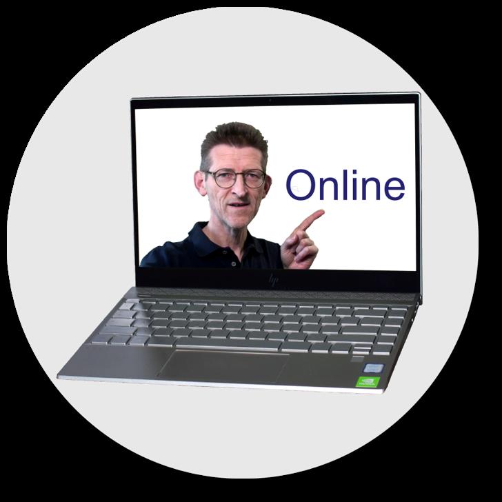 Online-Ausbildung rund